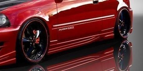Dokładki Progów Honda Civic VI Hatchback & Coupe < Inferno 2 > - GRUBYGARAGE - Sklep Tuningowy